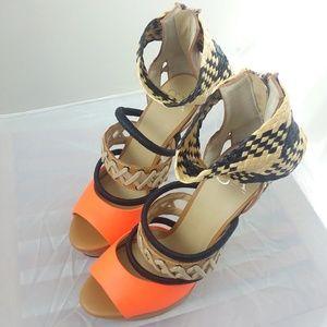 6930ea9cb39 GX by Gwen Stefani Dreamy Strappy Heels